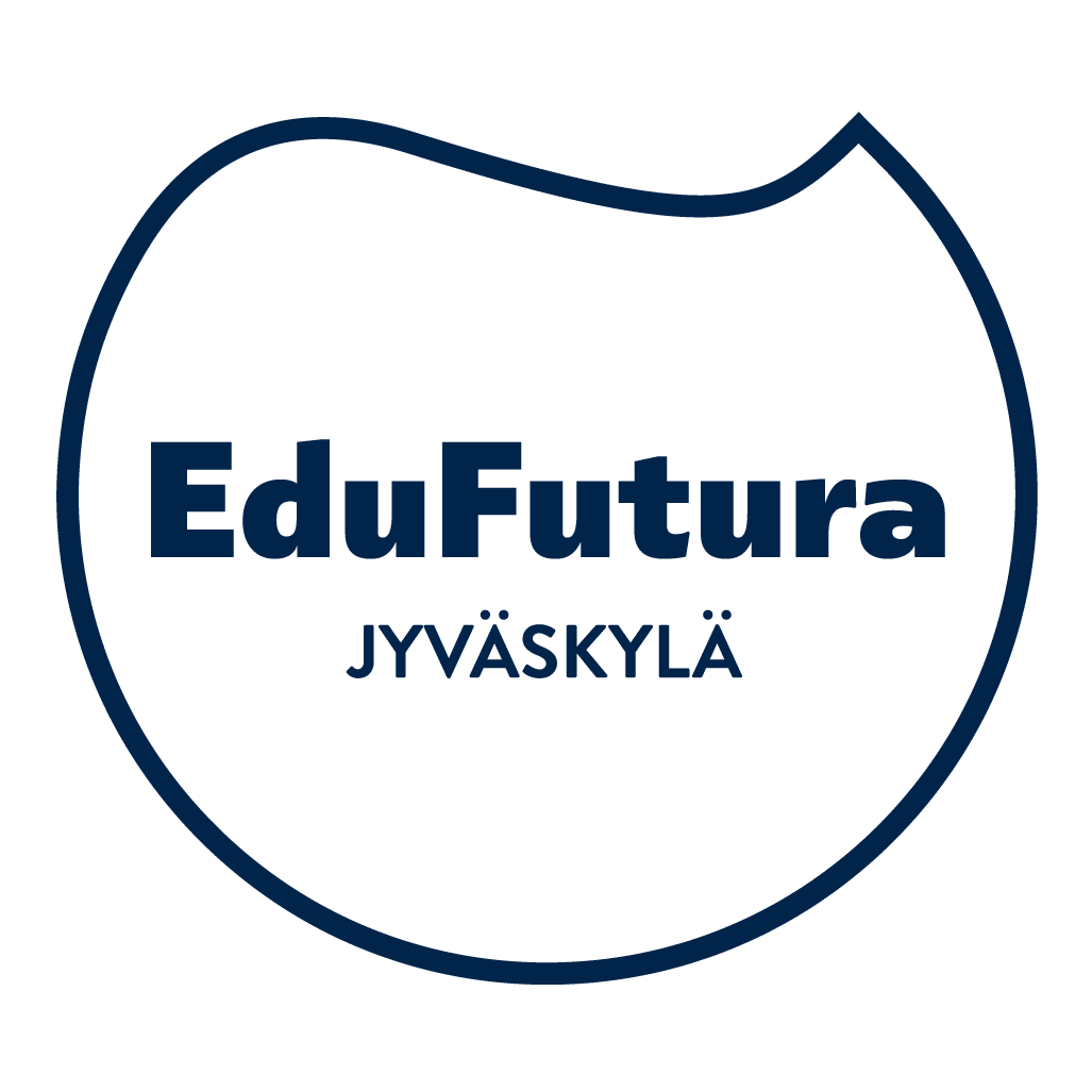 EduFutura Jyväskylän tummansininen logo